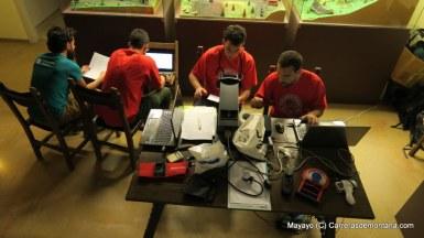 Equipo Médico Alpinultras trabajando en Emmona Ultra 28 Mayo
