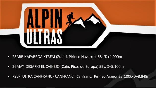 Calendario Carreras Montaña 2018 Alpinultras