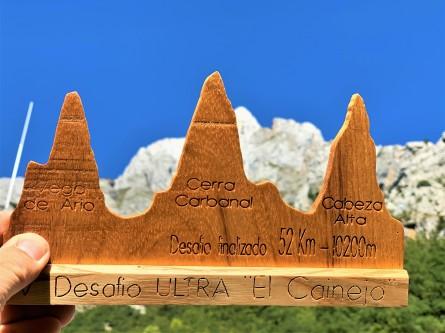 perfil carrera desafio el cainejo, puro picos de europa. foto mayayo